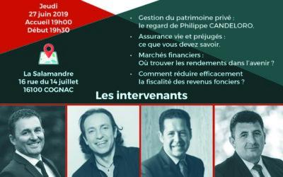 Conférence avec Philippe CANDELORO : Placements financiers et investissements locatifs – Ces solutions dont on ne vous parle jamais …