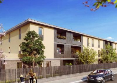 Résidence Limonaia à Toulouse – Investissement en loi Pinel