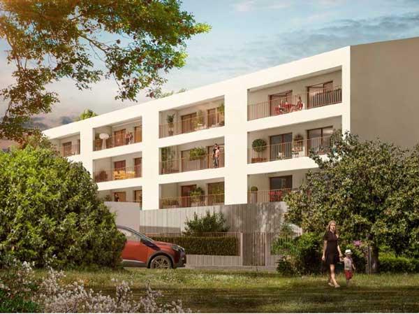 Domaine des Séquoias à Bordeaux-Cenon – investir en immobilier loi Pinel