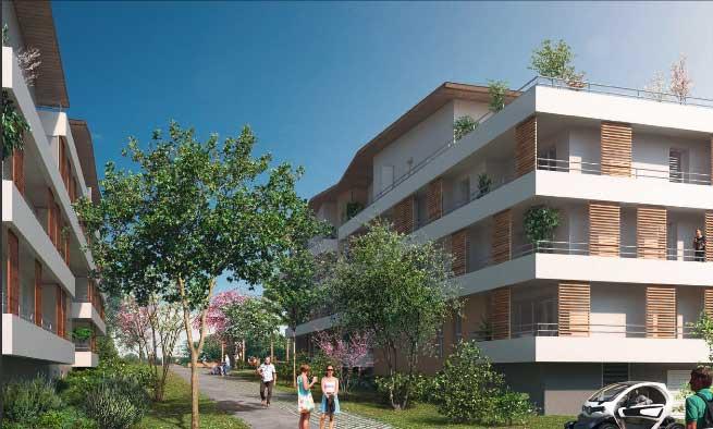 Résidence Golden Park à Bordeaux Bassens – Investir en immobilier dispositif Pinel