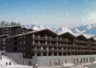 Le Hameau – Les 2 Alpes – investir en LMNP
