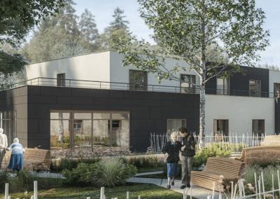 Résidence EHPAD EMERA à Saint Gervais Les 3 Clochers (86) Investir en LMNP