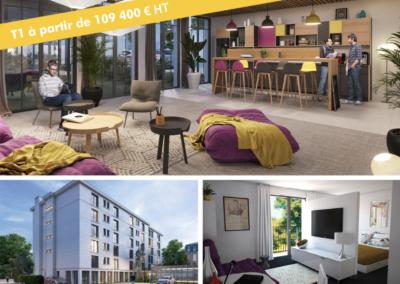 Investir en résidence pour étudiants en région parisienne