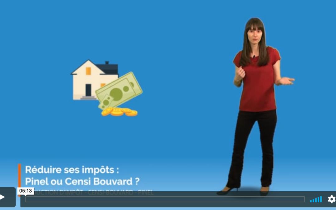 Réduire ses impôts, Pinel ou Censi Bouvard ?