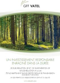 Oxygéner le patrimoine avec les groupements fonciers forestiers ?