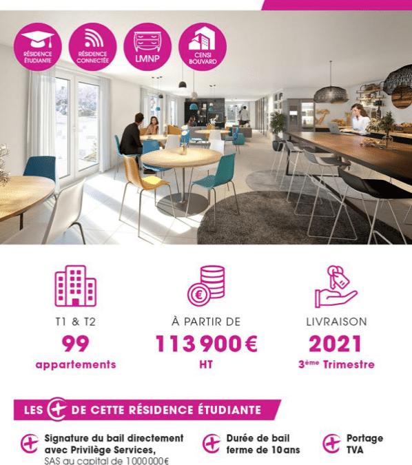 Residence Etudiante Campus Ricci à Villenave d'Ornon