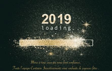 Bonnes fêtes 2019 !