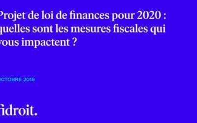 Quoi de neuf pour la fiscalité en 2020 ?
