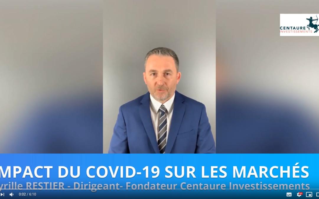 Impact du Covid-19 sur les marchés