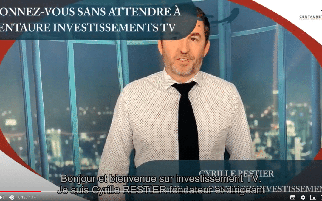 Présentation de Centaure Investissements TV