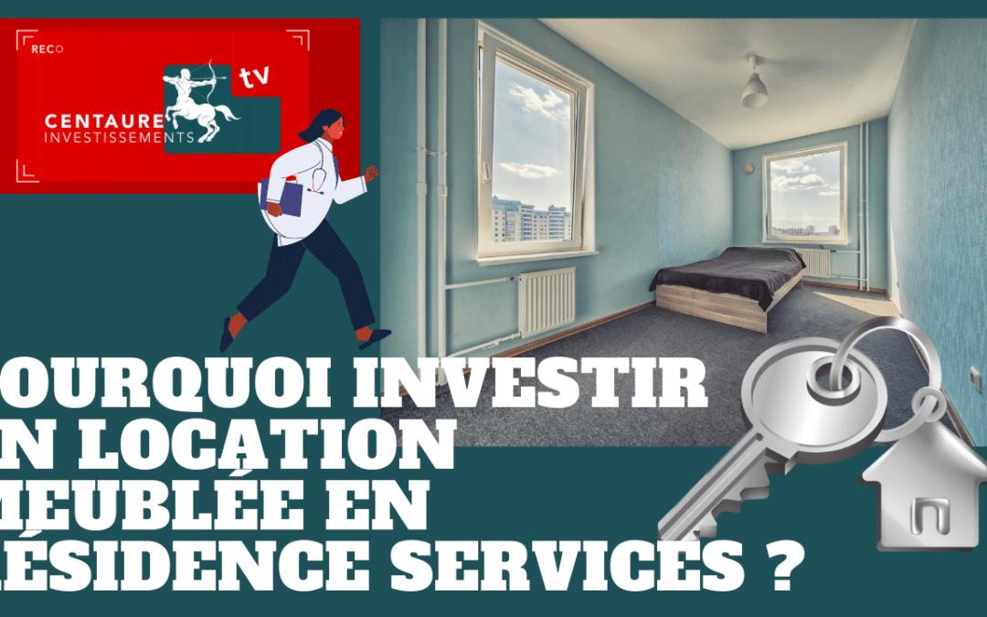 Faut il investir en location meublée dans une résidence services ?