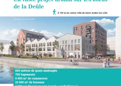 RESIDENCE SENIORS QUAI 22 à St André Lez Lille (59)