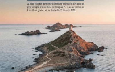 Réduction d'impôt : le FIP Corse Kallisté Capital n°13 est arrivé.