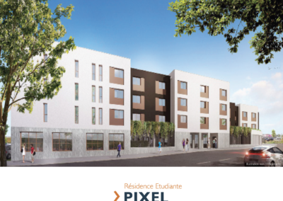 Investir en LMNP sur la résidence Étudiante le «Pixel» à Nantes