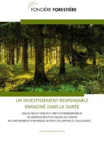 Investir dans les bois et forêts