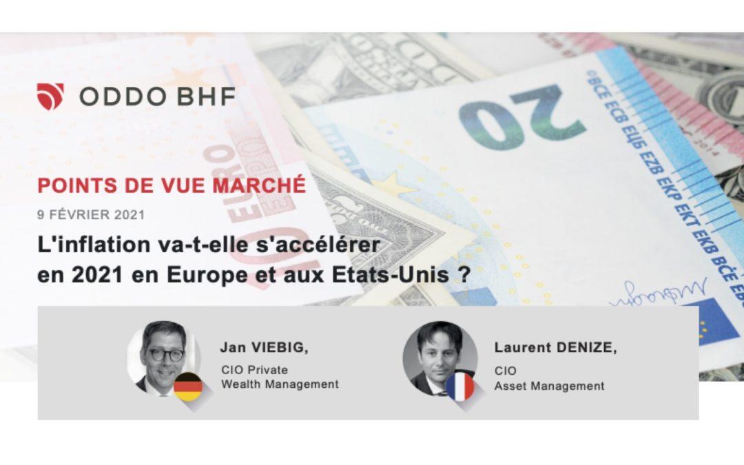 L'inflation va-t-elle s'accélérer en 2021  en Europe et aux Etats-Unis ?