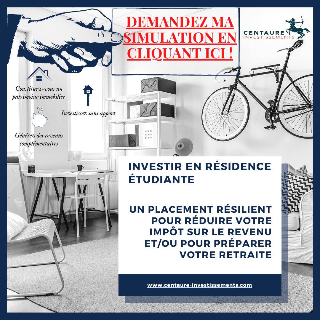 investir en résidence étudiante