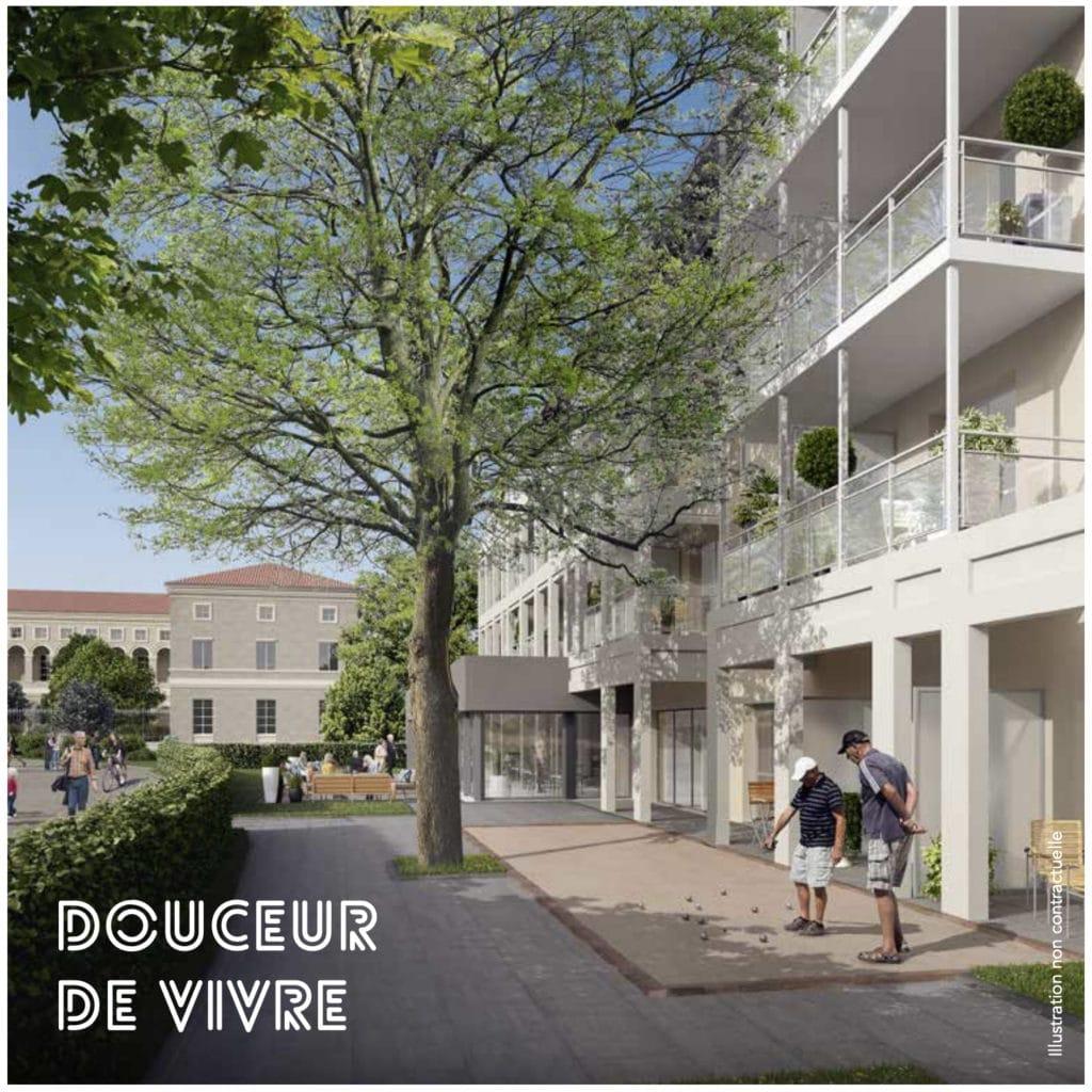Résidence LMNP Saint Cyr
